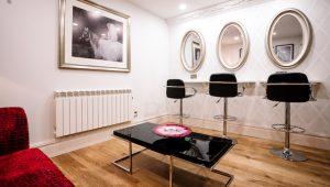 Makeup Room at Merrydale Manor